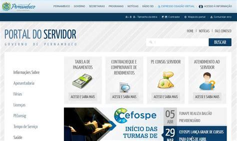 calendario de pagamento de servidor publico pernambuco em 2016 portal do servidor pe site servi 231 os mundodastribos