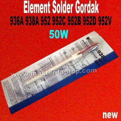 element solder gordak 936 938 952