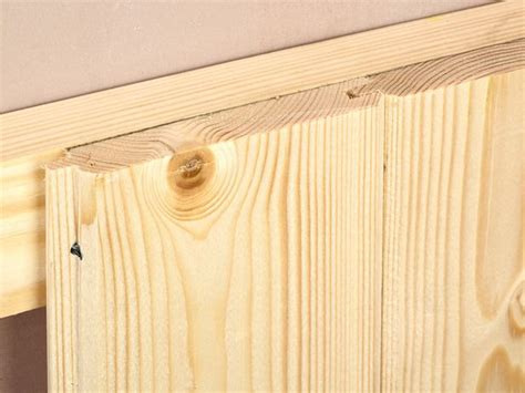 Tongue And Groove Wainscot Paneling by How To Install Tongue And Groove Wainscot Paneling Home