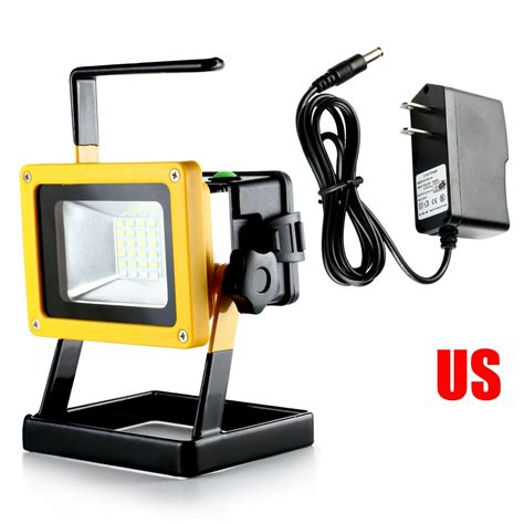 portable led work lights rechargeable portable 24 led 30w work light cordless flood