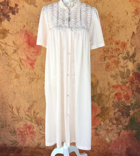 vanity fair nightgown vintage gown pink satin pajamas
