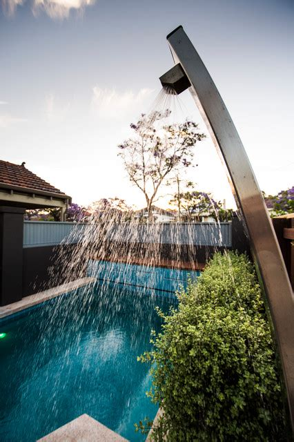 mount hawthorn courtyards contemporary pool perth
