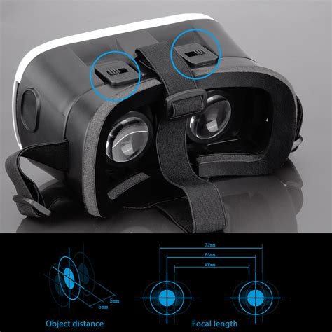 Vr Box 2 0 Bluetooth Gamepad f vr box 2 0 reality karton 3d brille