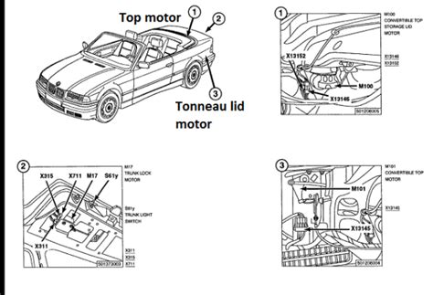 bmw z3 convertible top parts engine diagram and wiring