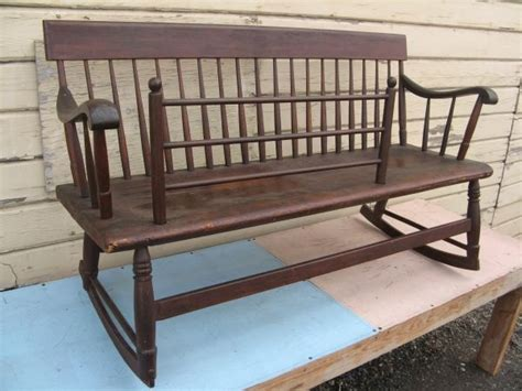 mammy bench quot mammy quot bench rocker antiques pinterest the o jays