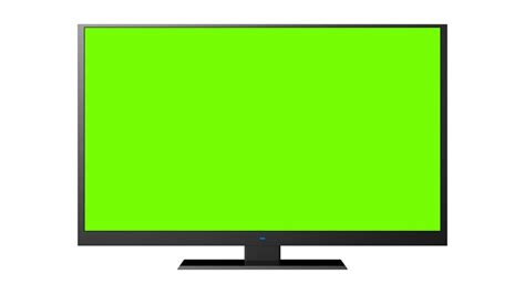 green tv old tv with green screen stock footage video 6694613