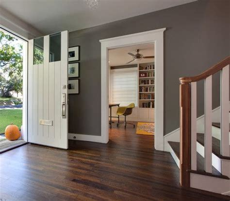 base boards grey walls grey and front doors