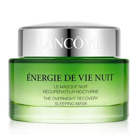 Lancome Energie De Vie Sleeping Mask 75ml Counter Price Rp 950000 201 Nergie De Vie Overnight Recovery Mask Lanc 244 Me