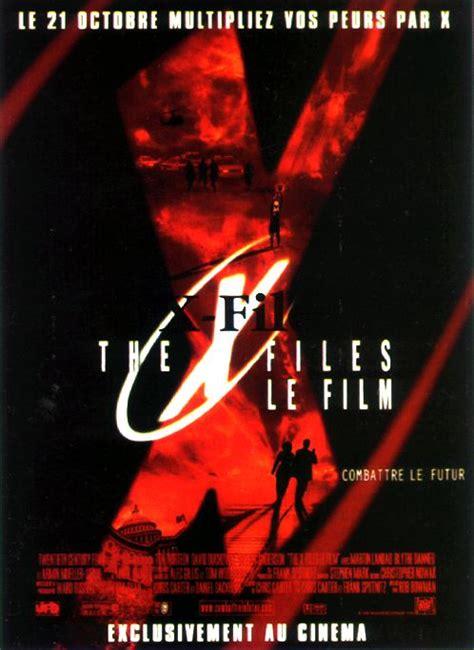 film seri x files the x files le film film 1998 allocin 233