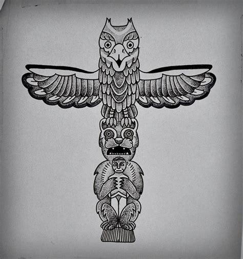 tattoo eagle totem totem tattoo on behance