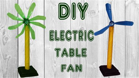 electric motor table fan