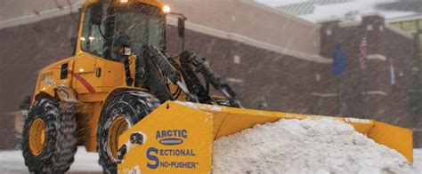 sectional snow plow the arctic sectional sno pusher snowplownews