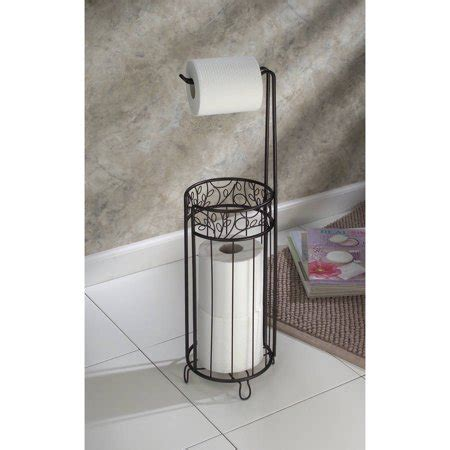 decorative paper walmart interdesign decorative toilet paper holder stand walmart