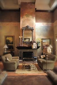 Italian style interior design in the living room great painted walls
