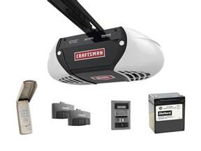 Garage Door Opener Up And Craftsman 54918 3 4 Horsepower Diehard 174 Battery Backup