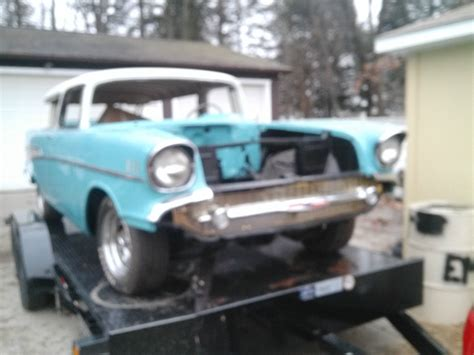 nomad car 1957 1957 chevy nomad project car