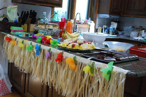 hawaiian bridal shower modern day soiree