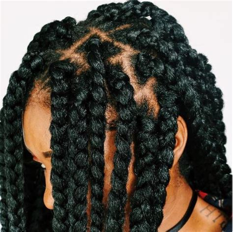 crotch individual braids into hair individual crochet box braids with no cornrows in 2 3 hrs