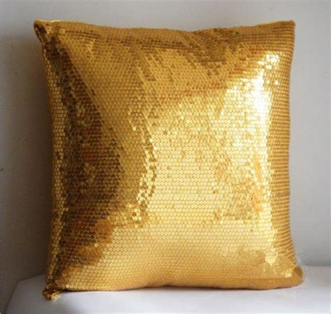 Cushion Covers For Sofa Pillows Aliexpress Buy Gold Sequin Pillow Decorative Cushion Covers Solid Colors Sofa Throw