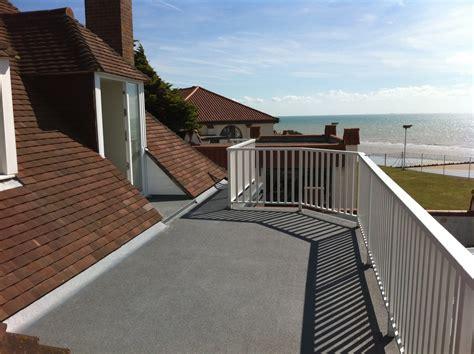 Flat Roof Coverings Grp Fibreglass Balcony Covering Advanced Roofing