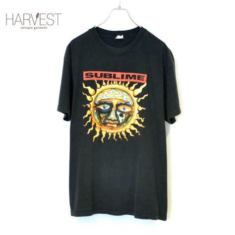 Sublime Band Merch 90s anvil sublime band t shirts harvest
