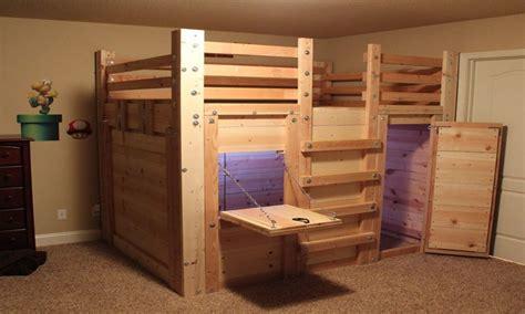 bunk bed plans fort beds for boys loft bed fort plans cabin bed