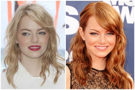 celebrity natural hair colors celebs who dye their locks pictures 15 stars who fake their natural hair color the hollywood