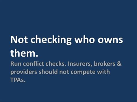 Third Background Check Providers 5 Common Mistakes To Avoid When Selecting A Third Administrator