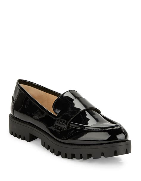 nine west loafer nine west juniper point toe loafers in black lyst
