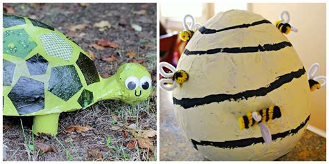 Easy Paper Mache Crafts - paper mache crafts for crayon box chronicles