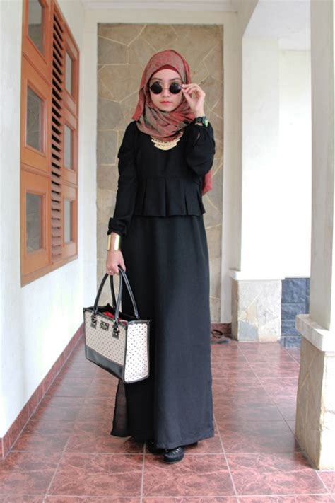 Dress Model Tank Top Warna Black 1000 images about the hijabi world on