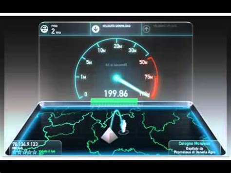 speed test cellulare speedtest eolo top 200mb s