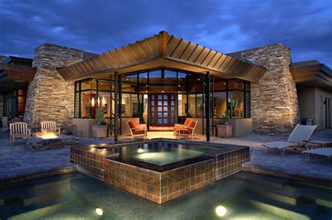 home design center phoenix desert mountain estate contemporary exterior phoenix