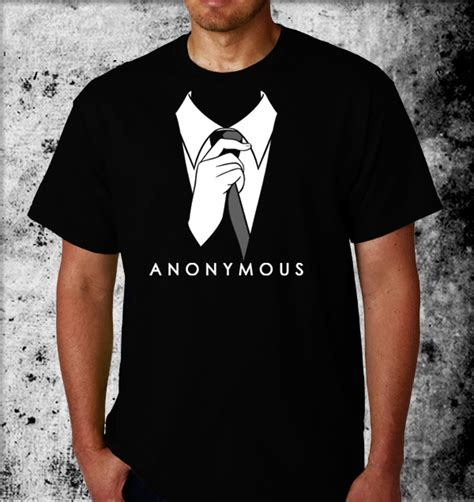 Hoodier We Are Anonymous anonymous tie tshirts anonymous t shirts we are legion t shirts