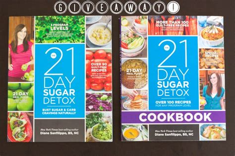 10 Day Sugar Detox Book by 21 Day Sugar Detox Book Review Giveaway Rubies Radishes