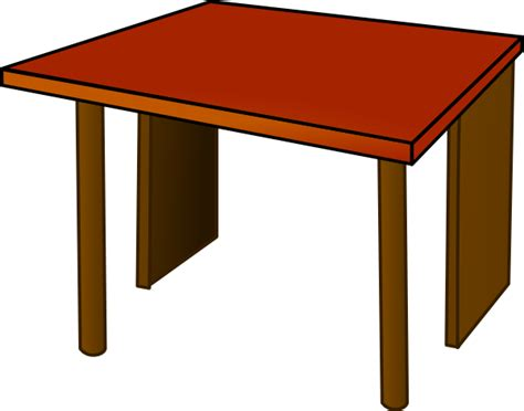 Clipart Table table top wood clip at clker vector clip