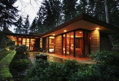 modern frank lloyd wright style homes one way street usonia