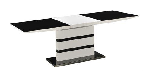 Extending White High Glass Gloss Dining Table And 6 Chairs Black Extending Dining Table And Chairs