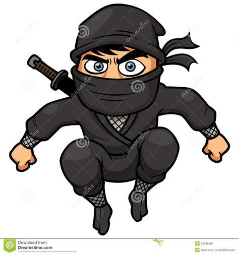 film ninja cartoon tecknad film ninja royaltyfri foto bild 34738465