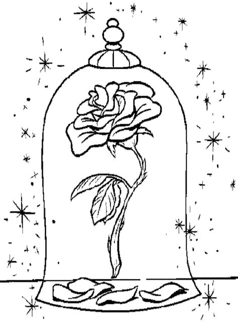 coloring pages more images roses 12 beauty and the beast rose coloring pages coloring pages