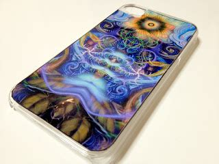 create  psychedelic iphone cover