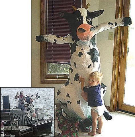 How To Make A Paper Mache Cow - paper mache pictures