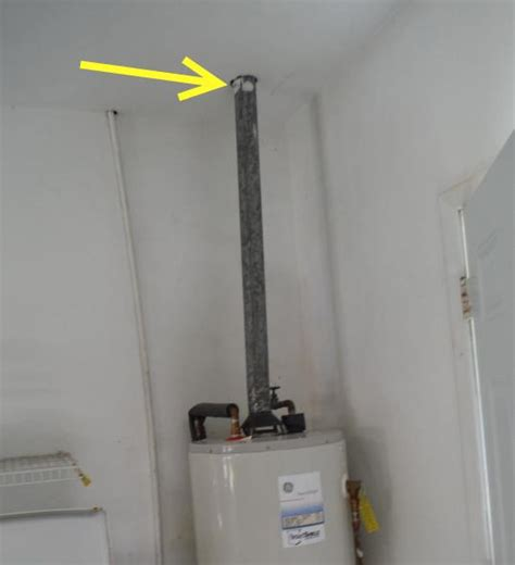 Water Heater Chs charleston home inspector discusses gas vents blue