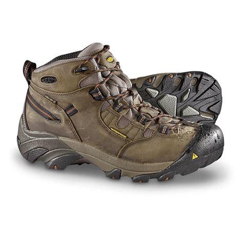 keen utility boots keen utility s detroit waterproof mid soft toe work