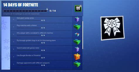 fortnite   complete  day  challenge  reward