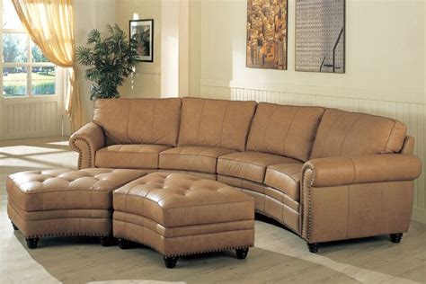 curved leather sectional sofa curved sectional sofa search furniture