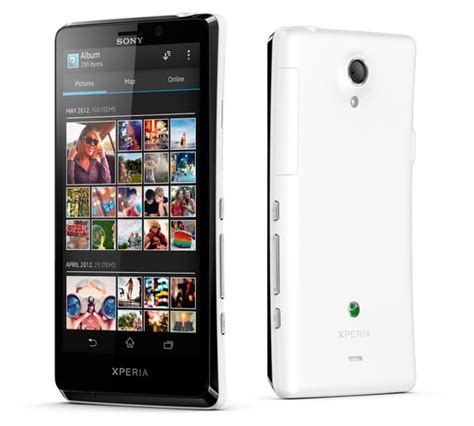 sony android phone sony xperia t android phone announced gadgetsin