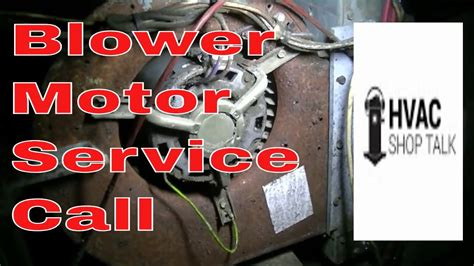 central air fan not working hvac service call troubleshooting a blower motor youtube