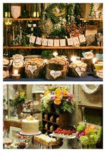 Rustic Wedding Buffet Table Pin By Smith On Wedding Ideas