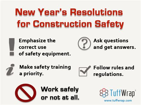 make safety your new years resolution prevention works new year s resolutions to ensure construction